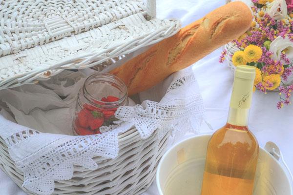 cestino da picnic per matrimonio