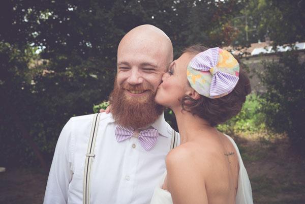 sposo con papillon
