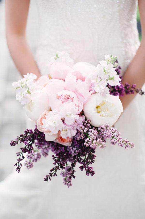 lillà per un matrimonio in primavera