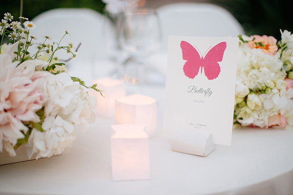 Matrimonio Tema Farfalle : Un matrimonio ispirato alle farfalle