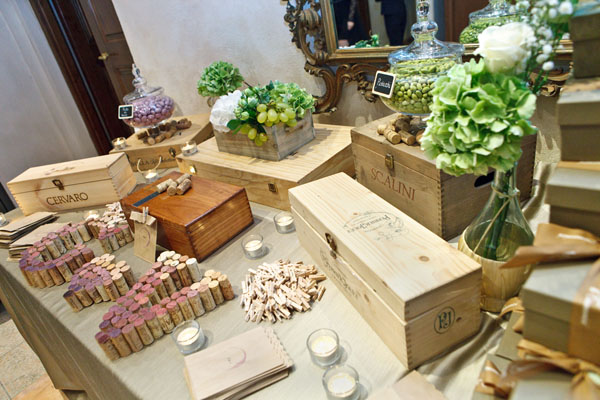 Tema Matrimonio Country Chic : Un matrimonio country chic a tema vino
