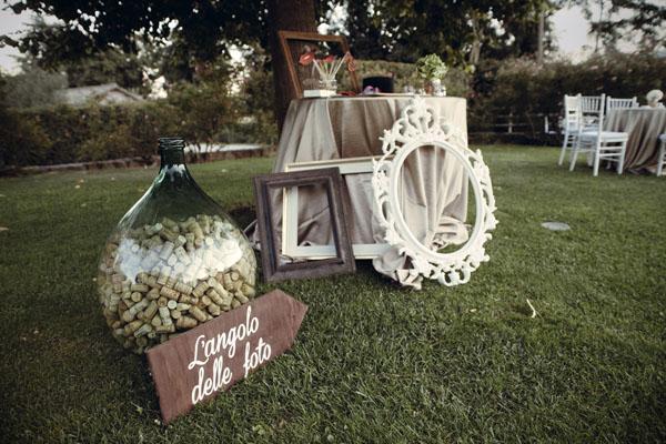 Nomi Tavoli Matrimonio Tema Rustico : Un matrimonio country chic a tema vino