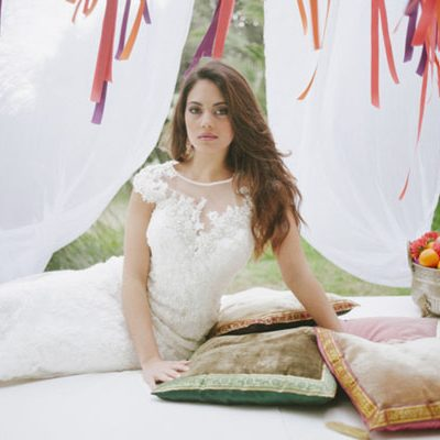 Un matrimonio bohémien ispirato al Marocco