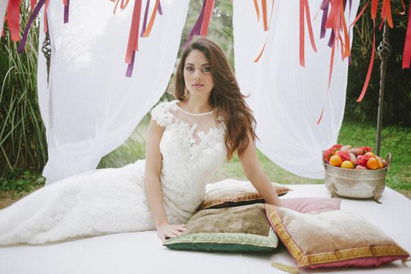 Matrimonio Bohemien Jurk : Matrimonio bohémien ispirato al marocco