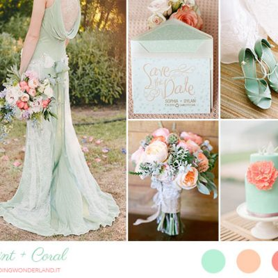 Inspiration board: Menta e corallo