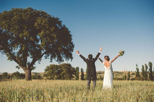 Un matrimonio handmade a Madrid