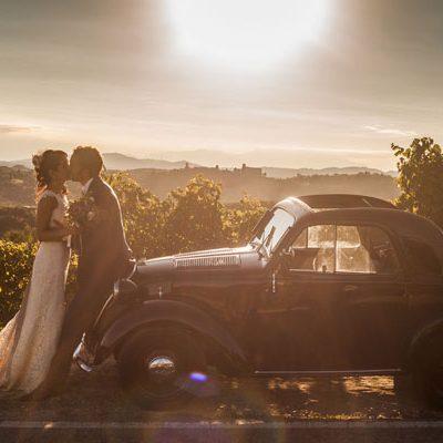 Un matrimonio tra vintage e shabby chic
