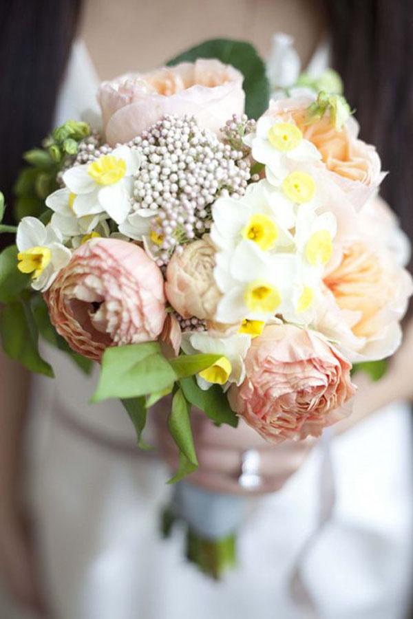 narcisi per un matrimonio in primavera