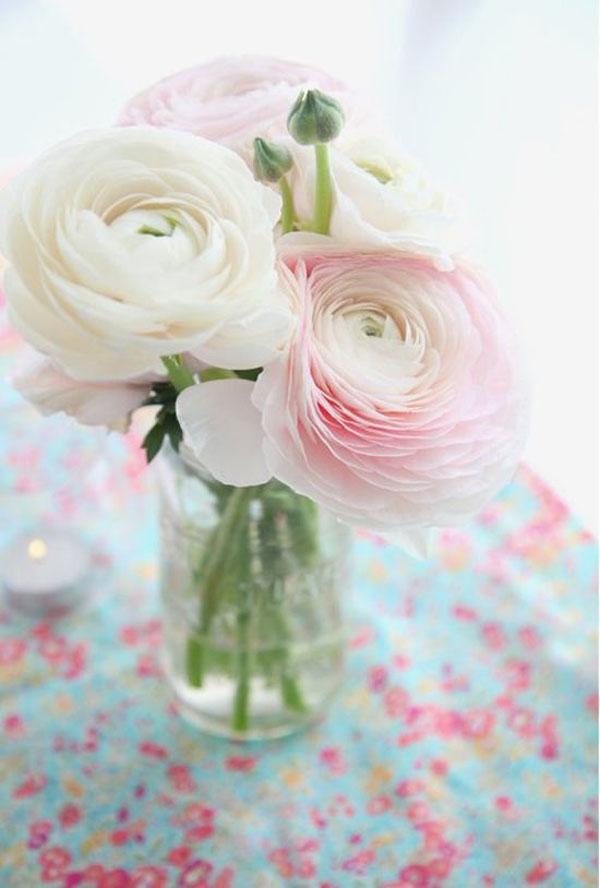 ranuncoli per un matrimonio in primavera