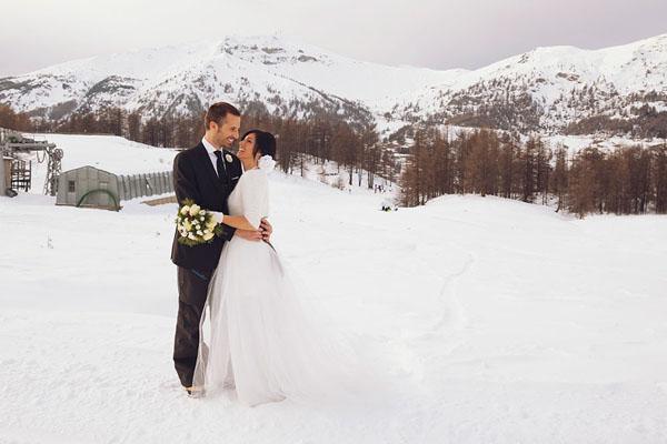 bridal session sulla neve | damn creativity-10
