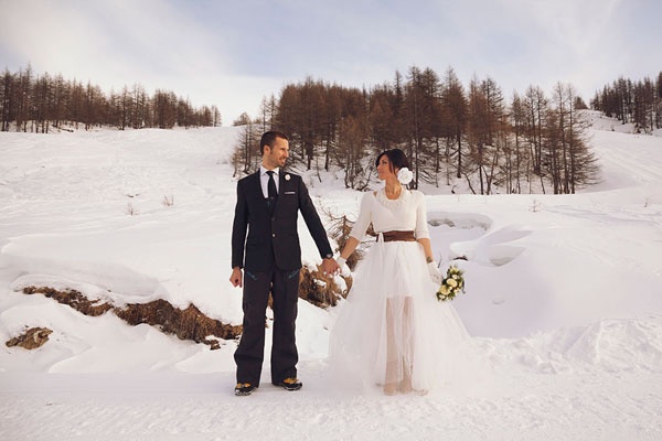 bridal session sulla neve | damn creativity-12