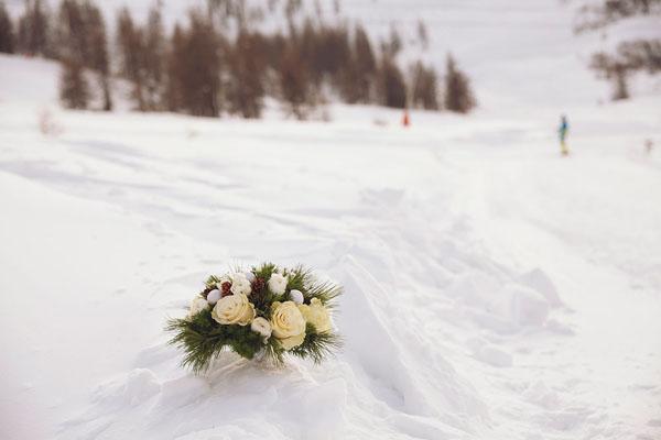bridal session sulla neve | damn creativity-13
