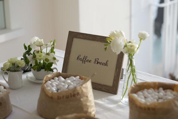 Matrimonio Tema Zen : Un matrimonio a tema caffè