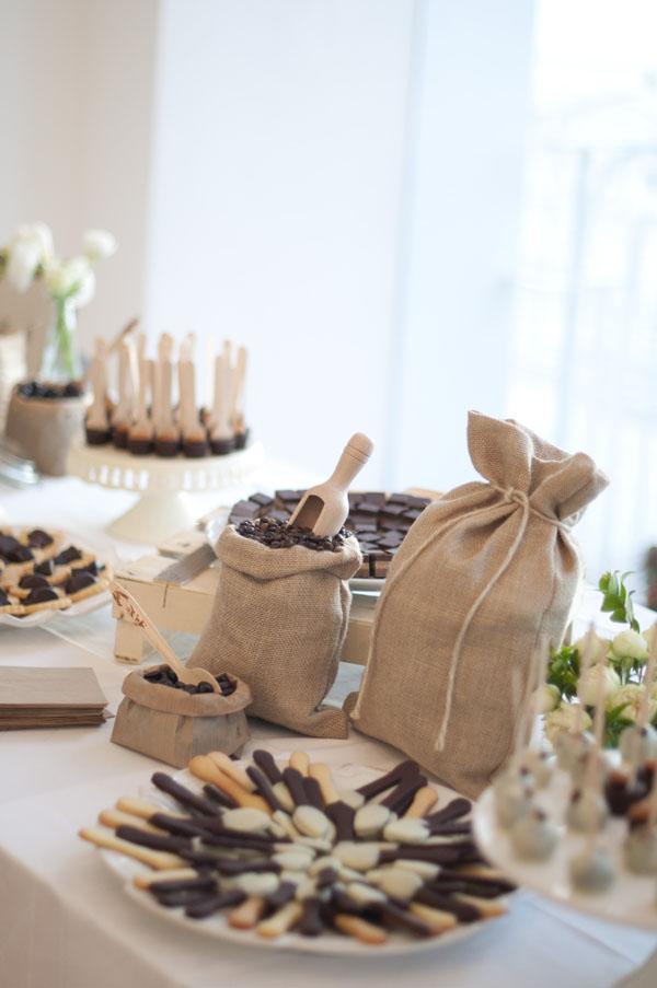 Matrimonio Tema Tè : Un matrimonio a tema caffè