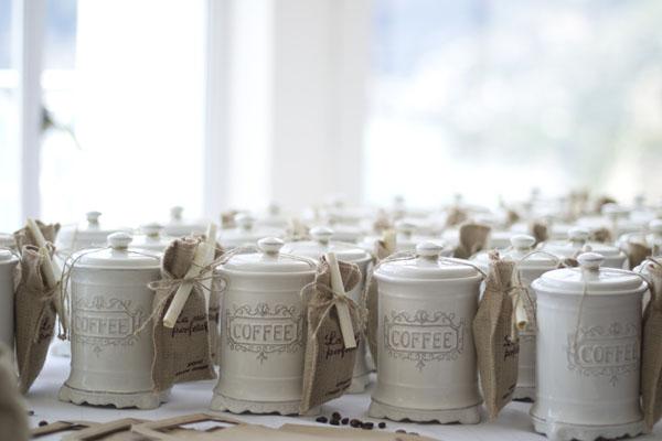 caffè come bomboniera