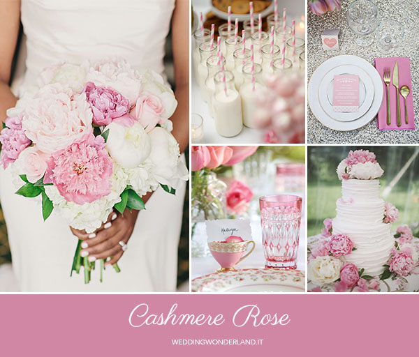 matrimonio autunnale rosa | pantone cashmere rose