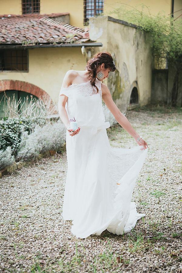Matrimonio Stile Bohémien : Lavanda e piante succulente per matrimonio bohémien chic