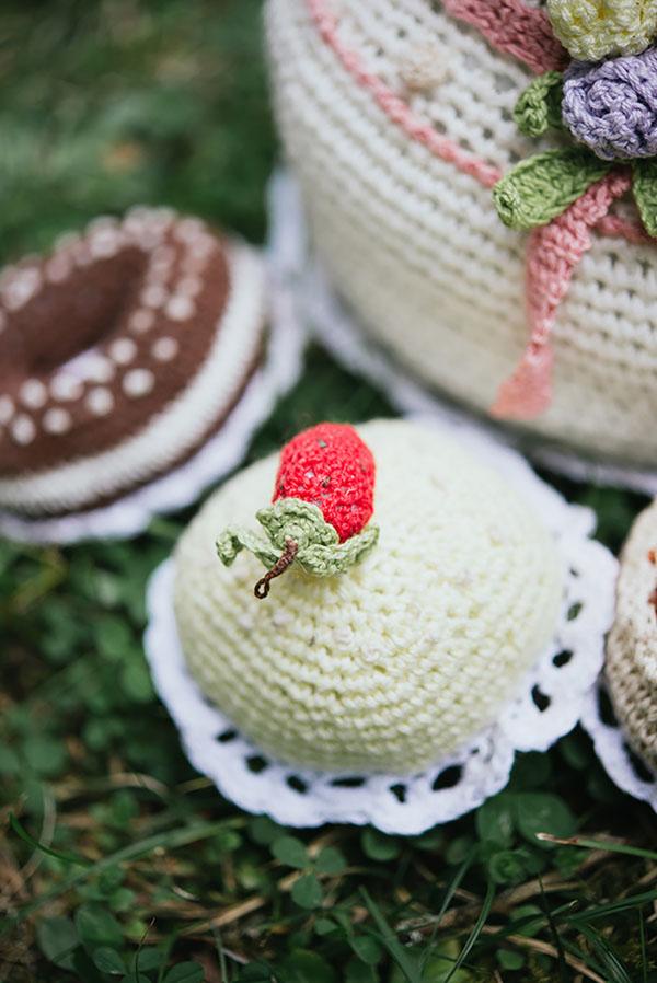 cupcake all'uncinetto