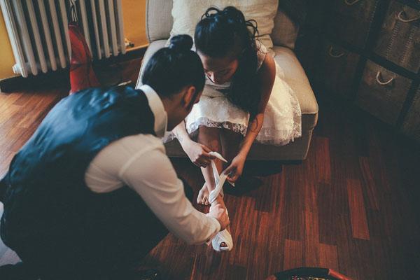 preparazione sposa e sposo