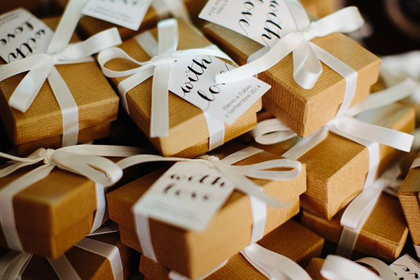 scatole kraft per bomboniere