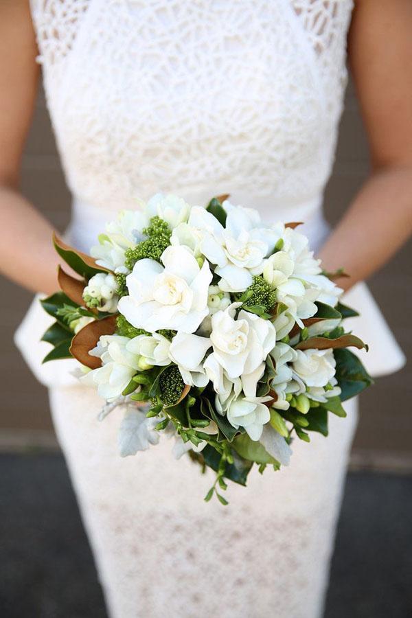 bouquet con gardenia