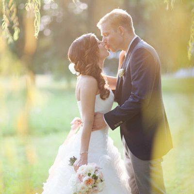 Colori pastello per un matrimonio ispirato al tandem