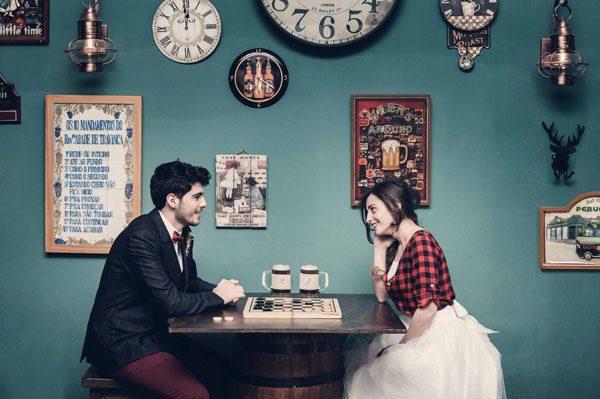 Inspiration shoot: Un matrimonio al pub