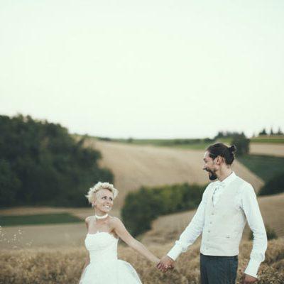 Un matrimonio a tema tandem in Monferrato
