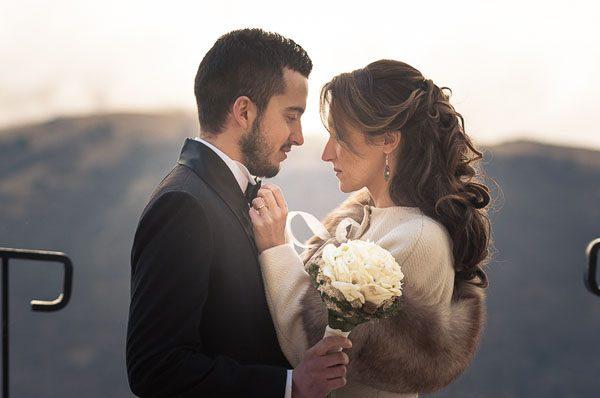 Un matrimonio invernale in Abruzzo