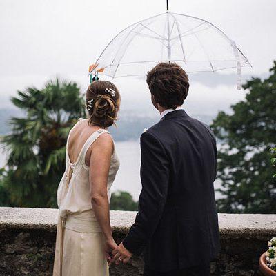 Un matrimonio ispirato al mare sul Lago d'Orta