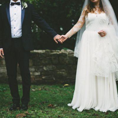 Un matrimonio nel giardino di casa