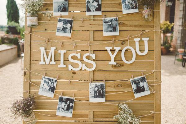 Allestimenti Matrimonio Rustico : Idee per decorare il vostro matrimonio con le fotografie