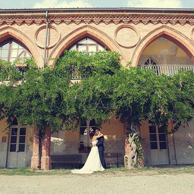 Una bridal session nel Parco de La Mandria