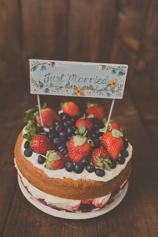 cake topper dipinto a mano
