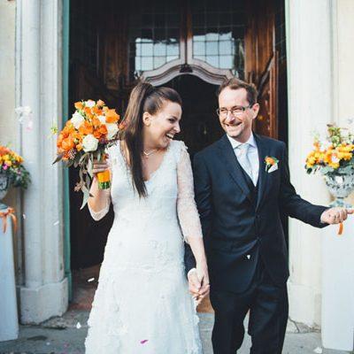 Un matrimonio rustico e autunnale