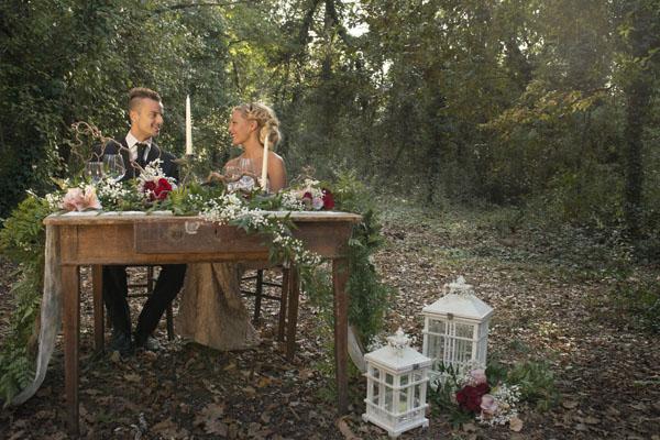 Inspiration shoot: un matrimonio autunnale nel bosco