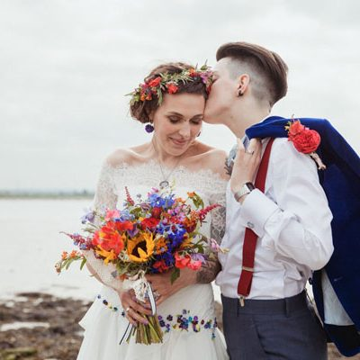 Un matrimonio rustico e bohémien