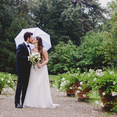 Un matrimonio handmade sotto la pioggia