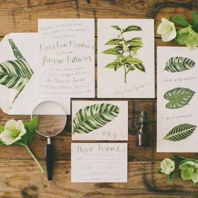 20 idee per un matrimonio botanico