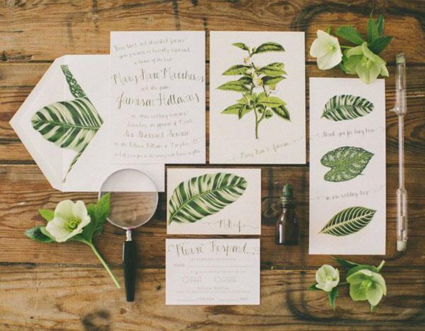 Partecipazioni Matrimonio Green.20 Idee Per Un Matrimonio Botanico Wedding Wonderland