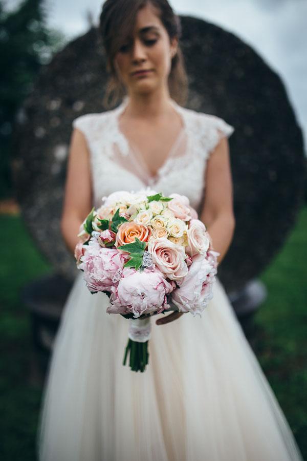 matrimonio shabby chic crema e rosa | Valerio Di Domenica Photography-25