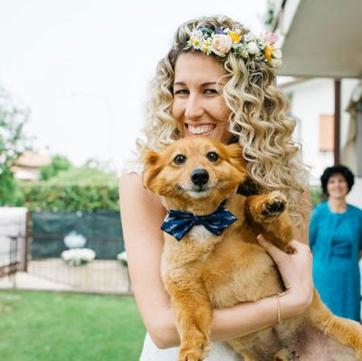 16 modi per includere i vostri animali nel giorno delle nozze
