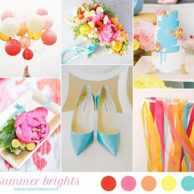 Inspiration board: Summer brights