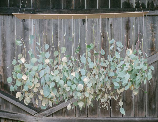 chandelier di foliage fai da te