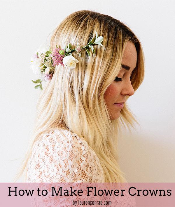corona di fiori fai da te