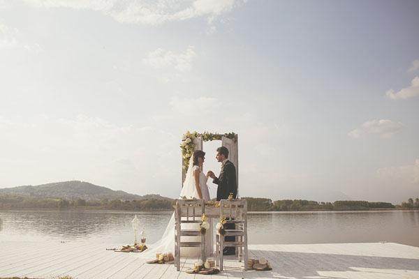 matrimonio giallo e verde sul lago di candia-11