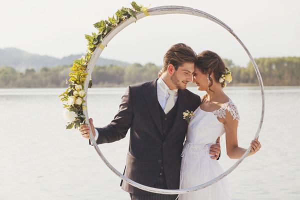 matrimonio giallo e verde sul lago di candia-16