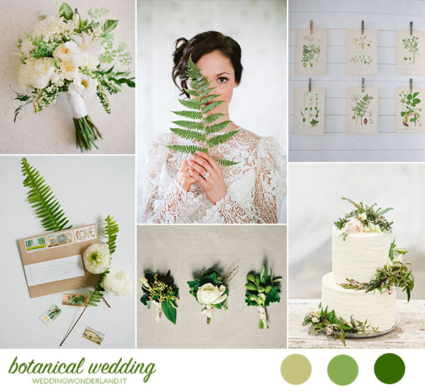 matrimonio organico botanico