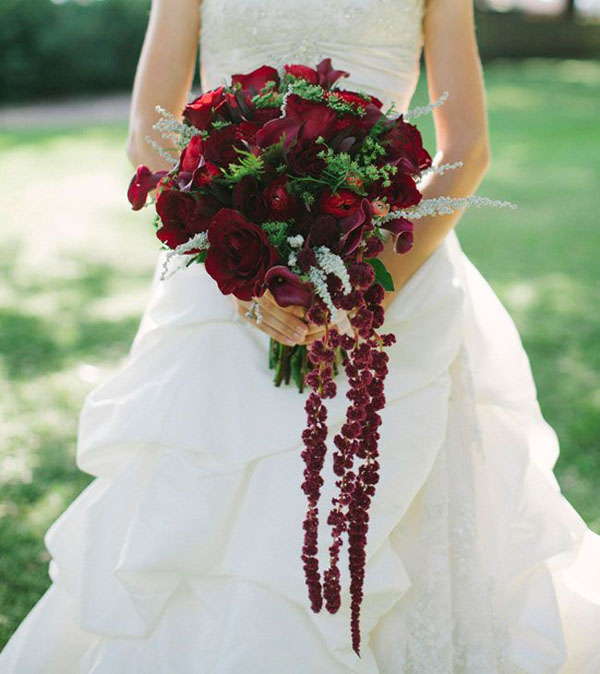 amaranto fiori matrimonio autunno