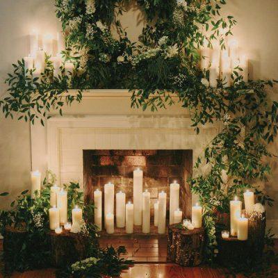 10 romanticissimi modi di usare le candele al vostro matrimonio